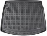 Резиновый коврик в багажник Renault Megane Grandtour 2015- (нижний ярус) Rezaw-Plast
