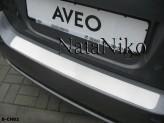 Nataniko Накладка на бампер Chevrolet Aveo 3-5 дверей 2006-2012 (хетчбек)