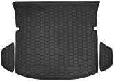 AvtoGumm Резиновый коврик в багажник Mazda CX-7