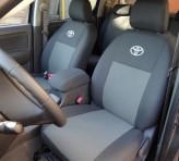 EMC Чехлы на сиденья Toyota Corolla 2013- (задний подлокотник)