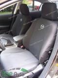 EMC Чехлы на сиденья Mazda 626 (GD) горбы