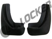 Брызговики задние Citroen C3 mkII (09-) hatchback  L.Locker