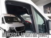 Heko Ветровики вставные Mercedes Sprinter 2018- (под резинку)