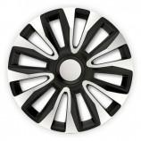 4Racing Колпаки Avalon Silver-Black R13 (Комплект 4 шт.)