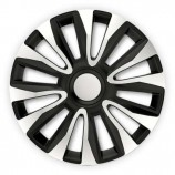4Racing Колпаки Avalon Silver-Black R16 (Комплект 4 шт.)