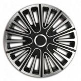 4Racing Колпаки Motion Silver-Black R16 (Комплект 4 шт.)