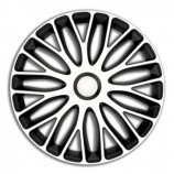 4Racing Колпаки Mugello White-Black R13 (Комплект 4 шт.)