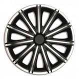 4Racing Колпаки Nero Silver-Black R16 (Комплект 4 шт.)