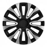 4Racing Колпаки Avalon Carbon Silver-Black R13 (Комплект 4 шт.)