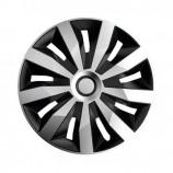 4Racing Колпаки Penta Silver-Black R13 (Комплект 4 шт.)