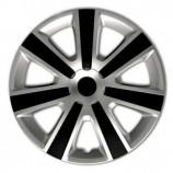 4Racing Колпаки VR Silver-Black R14 (Комплект 4 шт.)