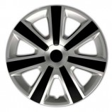 4Racing Колпаки VR Silver-Black R16 (Комплект 4 шт.)