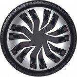 Argo Колпаки Fast Van Silver Black R16 (Комплект 4 шт.)