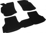 Глубокие резиновые коврики в салон Fiat Albea 2003-2012