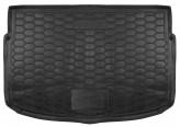 AvtoGumm Резиновый коврик в багажник Kia Rio HB 2017- (нижний ярус)