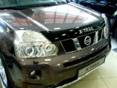 Sim Дефлектор капота Nissan X-Trail 2007-2014 (с надписью)