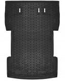 AvtoGumm Резиновый коврик в багажник VW Caddy Maxi 7 мест