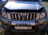 Sim Дефлектор капота Toyota Land Cruiser Prado 120 (с надписью)