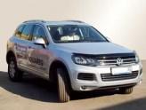 Sim Дефлектор капота Volkswagen Touareg 2010-2018