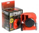 """Сигнал воздушный CA-10355 Еlephant """"Compact"""" 12V красный/color box"""