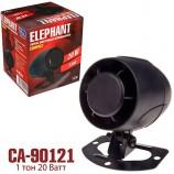 Сирена CA-90121 Еlephant 1тон-20W-12V