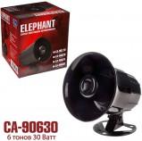Сирена Elephant 6тон-30W-12V СА-90630