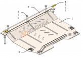 Кольчуга Защита двигателя, коробки передач Chevrolet Volt II HYBRID 2015-