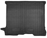 AvtoGumm Резиновый коврик в багажник Trafic Vivaro 2001-2014 (пассажир) Long