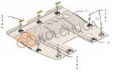 Кольчуга Защита двигателя, коробки передач, радиатор Citroen С8 2002-2008