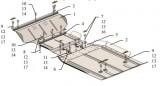 Защита двигателя, коробки передач, РКПП, радиатор Ford F-150 2009-2014