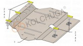 Кольчуга Защита двигателя, коробки передач Honda Fit III (USA) 2013-