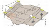Кольчуга Защита двигателя, коробки передач Honda Jazz 2013-
