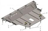 Кольчуга Защита двигателя, коробки передач Jeep Cherokee Longitude 2014-