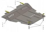 Кольчуга Защита двигателя, коробки передач, радиатора Mercedes-Benz Citan 2012-