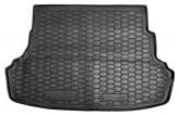 AvtoGumm Резиновый коврик в багажник HYUNDAI Accent 2010-2017 (цельная задняя спинка, короткий.)