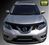 Дефлектор капота Nissan X-Trail 2014-