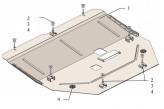 Кольчуга Защита двигателя, коробки передач Renault Talisman 2015-