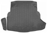 AvtoGumm Резиновый коврик в багажник MERCEDES  W 205 (седан) с ухом