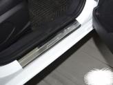 Накладки на пороги GREAT WALL HAVAL H2 (Premium)