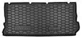 AvtoGumm Резиновый коврик в багажник VW Sharan 1995-2010 (7мест)