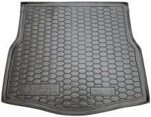 AvtoGumm Резиновый коврик в багажник Renault Laguna HB/Liftback 2007-2015 (хетчбэк)