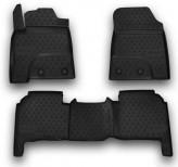 Резиновые глубокие коврики Lexus LX 570 5 мест 2012-