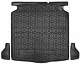 AvtoGumm Резиновый коврик в багажник Ford Focus 2019- (Универсал) нижняя полка