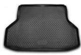 NovLine-Element Резиновый коврик в багажник DAEWOO Gentra (седан) 2013-