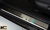 Накладки на пороги Toyota RAV-4 2019- (Premium)