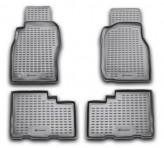 Глубокие резиновые коврики в салон Nissan Patrol 1997-2010