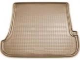 NovLine-Element Резиновый коврик в багажник TOYOTA Land Cruiser Prado 120 2003-2009 (Бежевый)