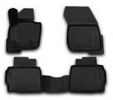 Глубокие резиновые коврики в салон Ford Mondeo 2014- Fusion USA (13-16)