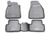 Глубокие резиновые коврики в салон Renault Megane 2002-2009