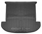 AvtoGumm Резиновый коврик в багажник Hyundai Santa Fe 2018- (7-ми местный)